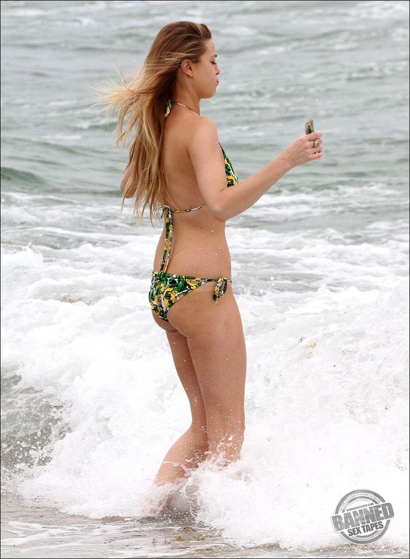 Mature nude beach voyeur