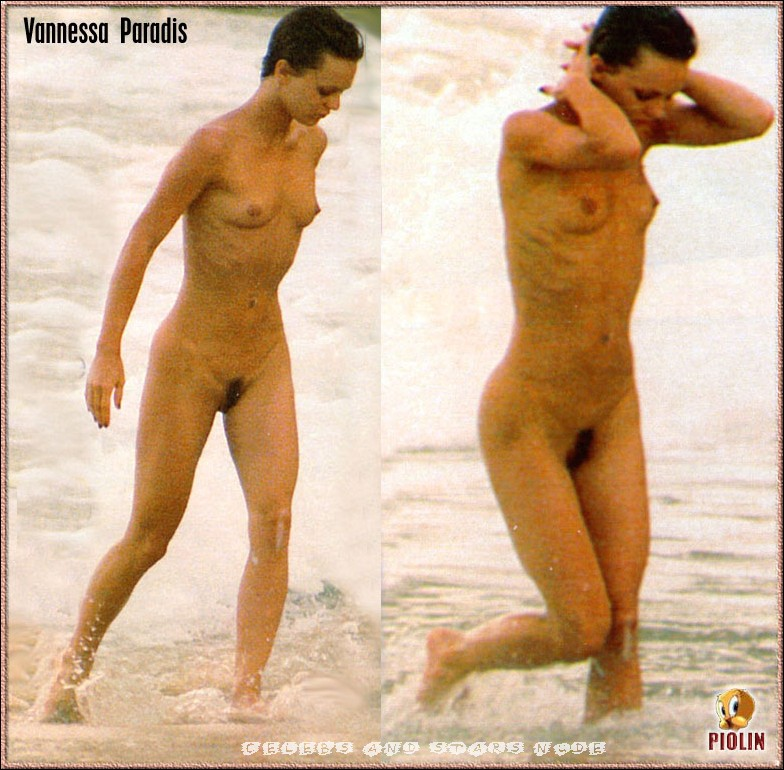 Vanessa Paradis Paparazzi Nude Shots Pictures